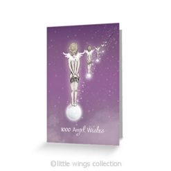1000 Angel Wishes - Greeting Cards