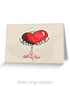 All my Love - Greeting Cards