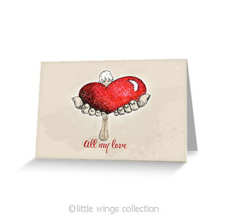 All my Love – Greeting Cards