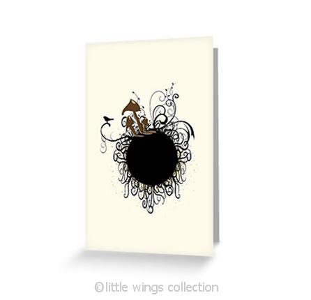 Black Birdy – Greeting Cards