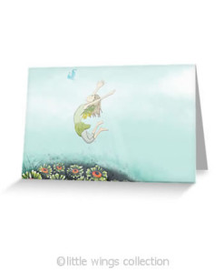 Flying Lessons - Greeting Cards