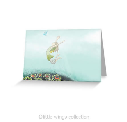 Flying Lessons – Greeting Cards