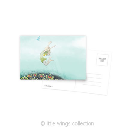 Flying Lessons – Postcard