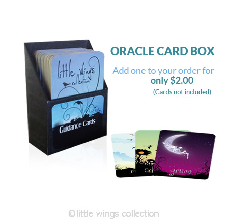 Oracle Cards and Card Deck Box