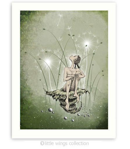 Print - Dandelion Princess