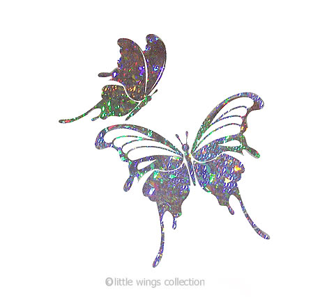 Holographic Stickers - Butterflyx2
