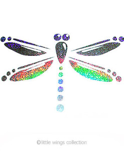 Holographic Stickers - Dragonfly