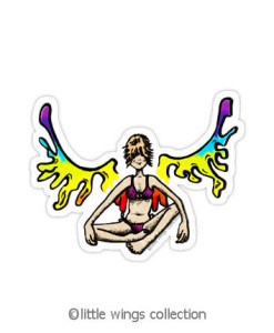 Vinyl Stickers - Rainbowgirl