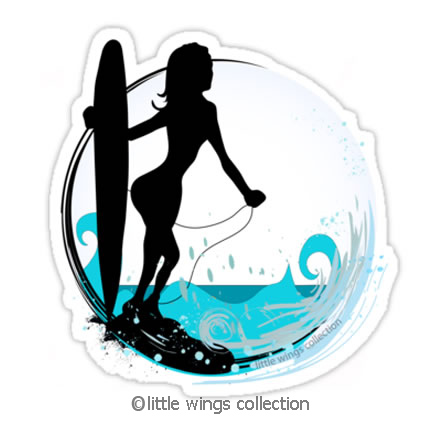 Surfer - Sticker
