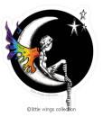 Moongirl – Vinyl Stickers
