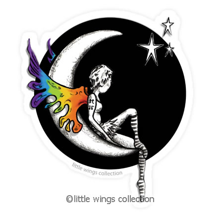 Moongirl - Vinyl Stickers