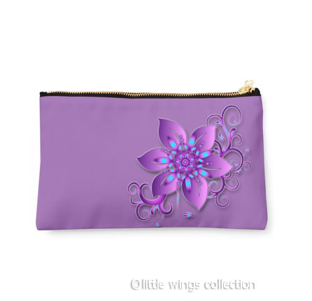 Wild Orchid - Pouch