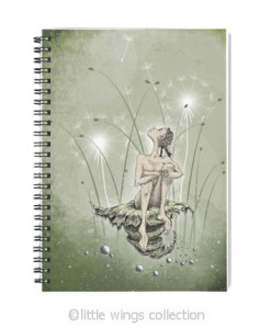 Notebooks - Dandelion Princess - Little Wings Collection