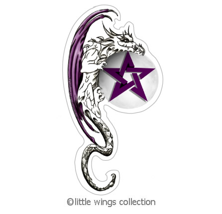 Stickers - Dragon Pentacle