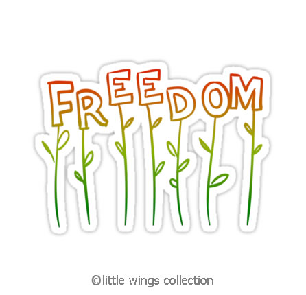 stickers - plant freedom