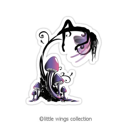 serenity - vinyl stickers - Little Wings Collection