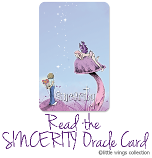 Oracle Cards - Sincerity