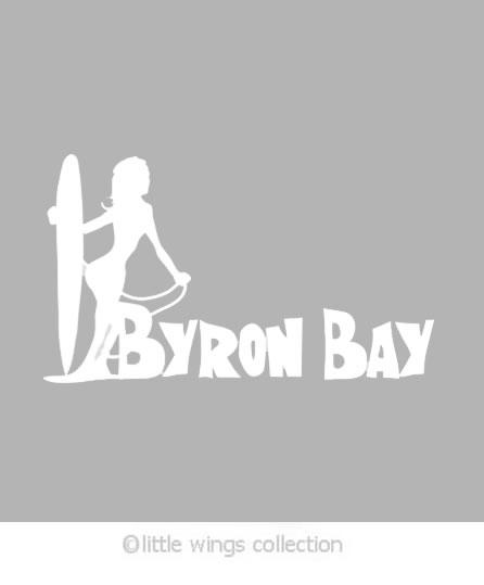 Sticker Byron Bay Surfer