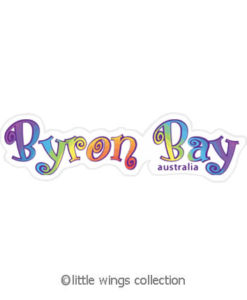 Rainbow Byron Bay - Vinyl Stickers