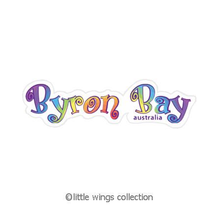 Rainbow Byron Bay - Vinyl Stickers