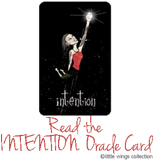 Oracle Cards - Intention