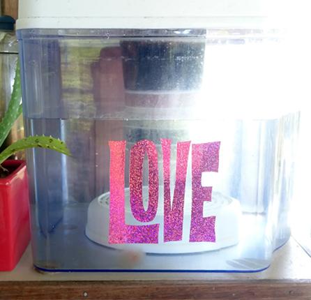 Love - Holographic Sticker