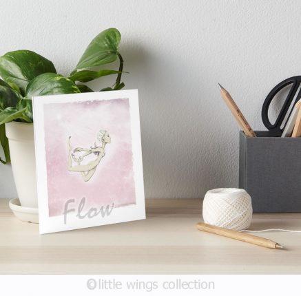Flow - art board Little Wings Collection
