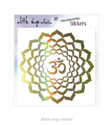 Om Lotus Sticker Little Wings Collection