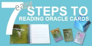 Oracle Cards Reading in 7 easy steps - Little Wings Collection