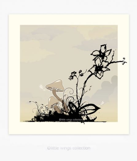 Mushroom Garden - Art Board