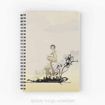 notebook little wings collection