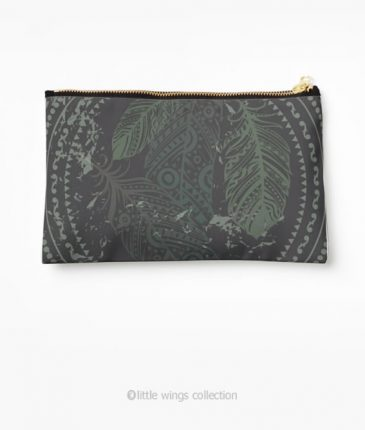 Pouch Feathers Little Wings Collection