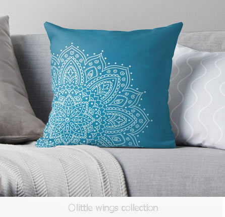 Paisley Cushion Cover - Little Wings Collection