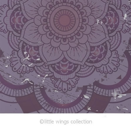Notebook Mandala Little Wings Collection