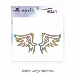 holographic stickers little wings