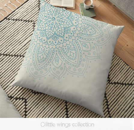Floor Pillow Little Wings Collection