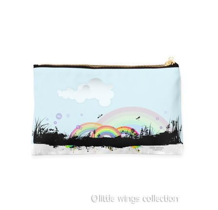 rainbows pouch little wings